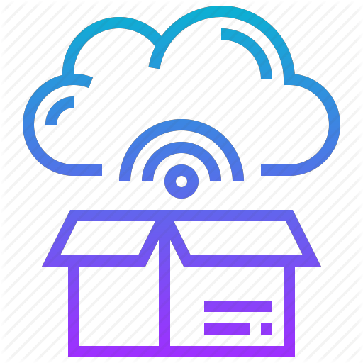Box, Cloud, Communication, Storage, Wireless Icon