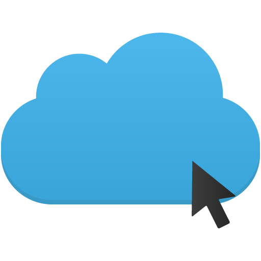 Click Cloud Icon Flatastic Iconset Custom Icon Design