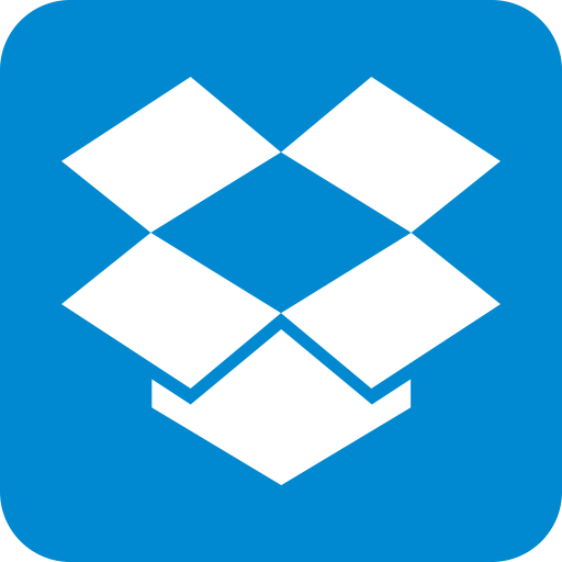 Drop Box, Cloud Icon
