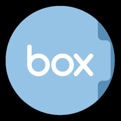 Folder Box Icon The Circle Iconset Xenatt