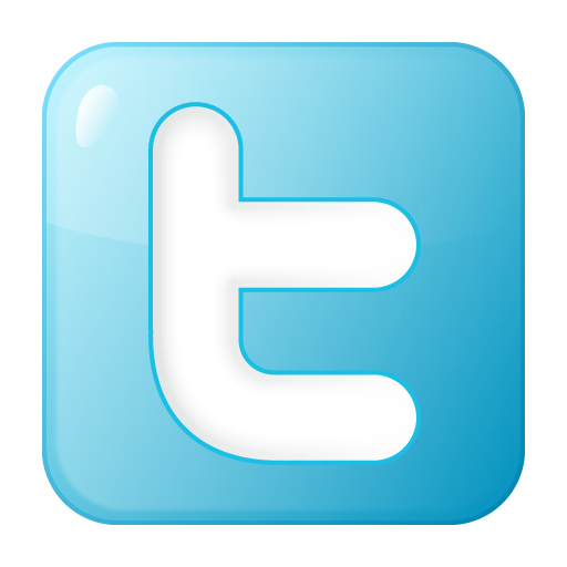 Social Twitter Box Blue Icon Social Bookmark Iconset Yootheme