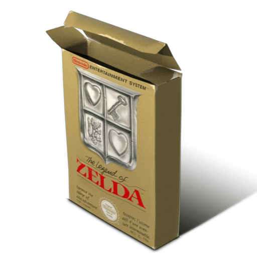 Box Zelda Icon Free Download As Png And Icon Easy