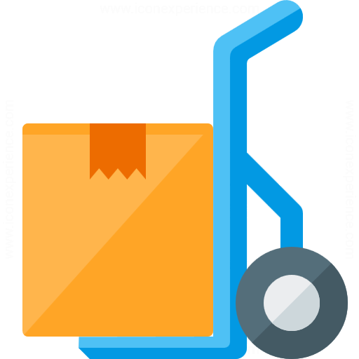 Iconexperience G Collection Hand Truck Box Icon