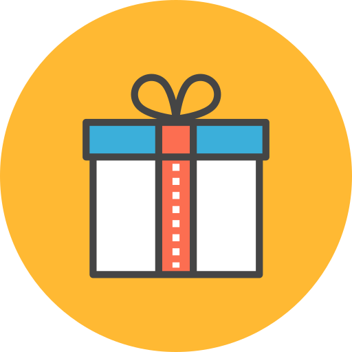 Gift, Box Icon Free Of Flat Line Ecommerce