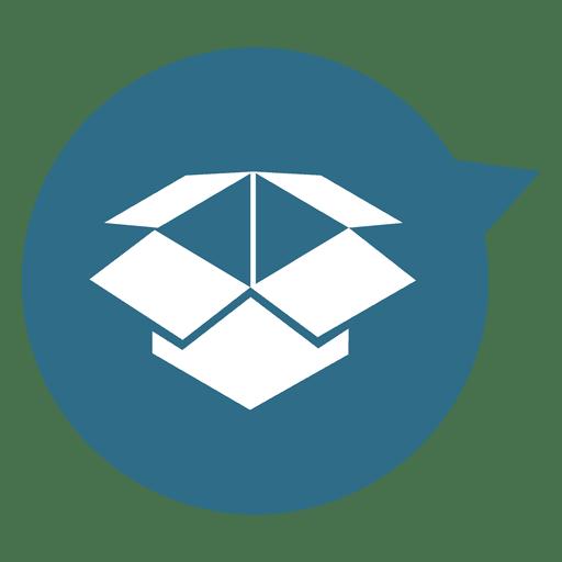 Box Circle Pointer Icon