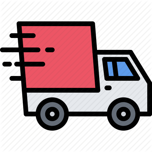 Box, Car, Courier, Fast, Purchase, Speed, Truck Icon