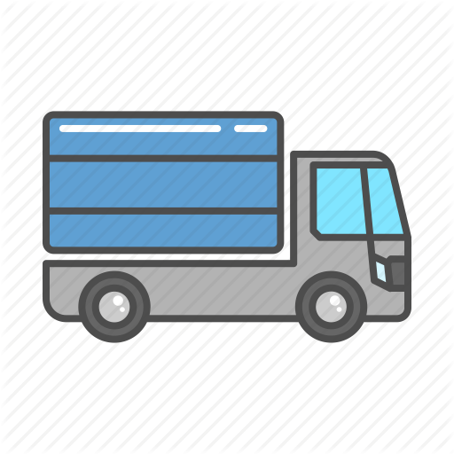 Box, Cargo, Delivery, Transportation, Truck, Van, Vehicle Icon