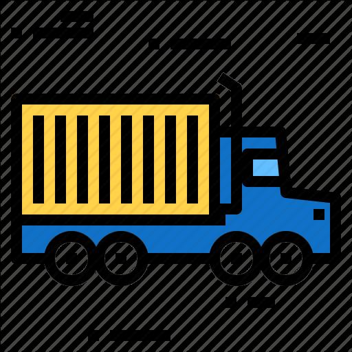 Box, Container, Deliver, Truck Icon