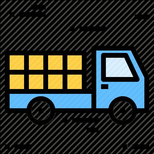 Box, Deliver, Truck Icon