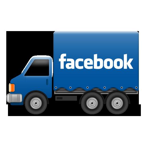 Fb, Social, Truck Icon