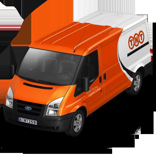 Tnt Van Front Icon Container Cargo Vans Iconset Antrepo