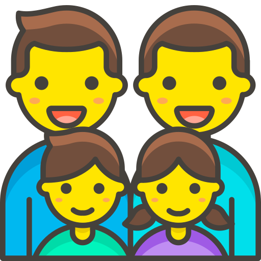 Family, Man, Man, Girl, Boy Icon Free Of Free Vector Emoji