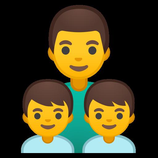 Family Man Boy Boy Icon Noto Emoji People Family Love Iconset