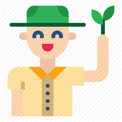 Botany, Boy, Forester, Plant, Scout Icon