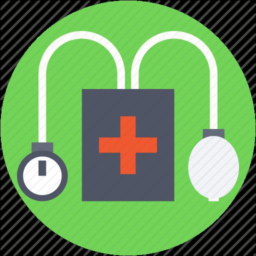 Blood Pressure, Bp Apparatus, Bp Gauge, Bp Monitor, Bp Operator Icon