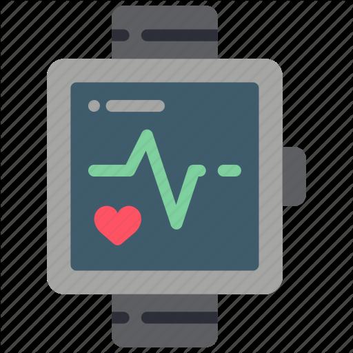 Bpm, Fitness, Health, Pulse, Tech, Watch, Wearable Icon