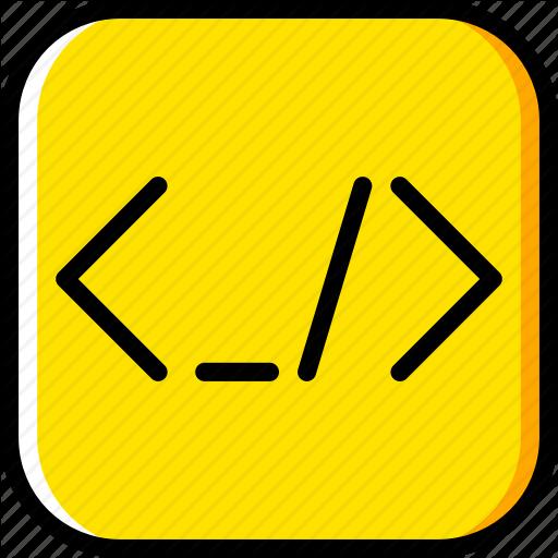 Brackets, Code, Coding, Development, Programming Icon