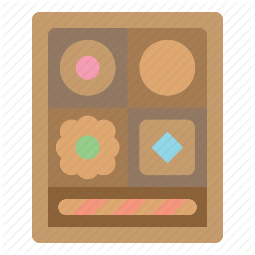 Bakery, Braid, Pastry, Puff Icon