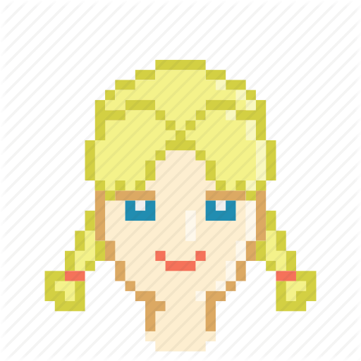 Blonde, Braid, Female, Game, Girl, Light, Profile Icon