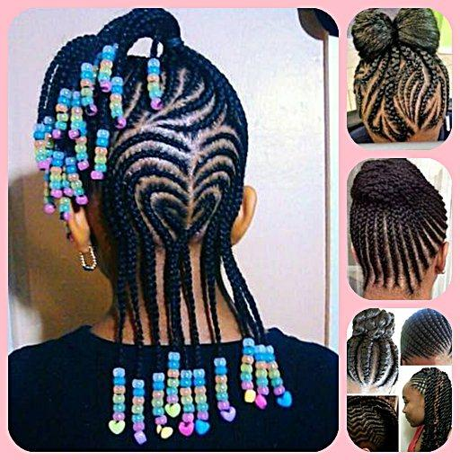 Kids Hairstyle And Braids Apk