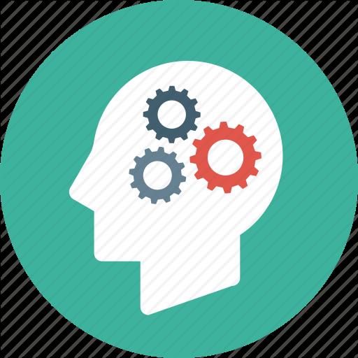 Brain, Creative, Head, Mind, Settings, Thinking Icon