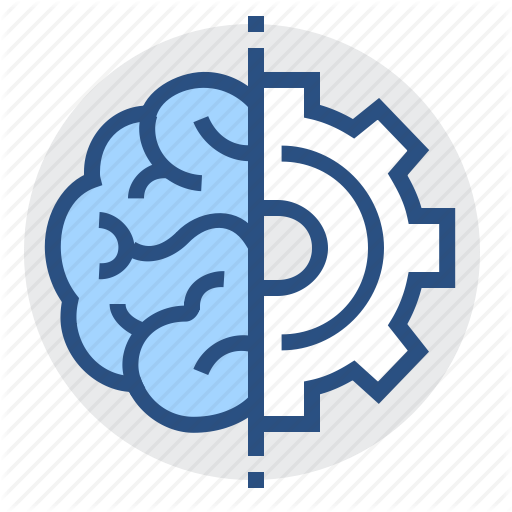 Brain, Engineering, Gear, Mind, Thinking Icon