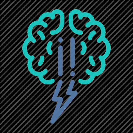 Brain, Brainstorm, Brainstorming, Creative, Idea, Storm, Thought Icon