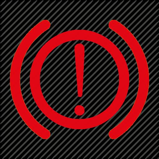 Brake System, Dashboard, Hand Brake, Indicator, Warning Icon