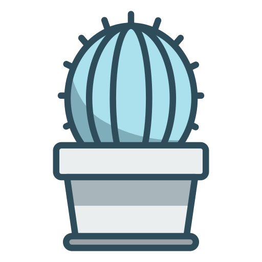 Cactus, Flower Pot, Plant Icon Free Of Office