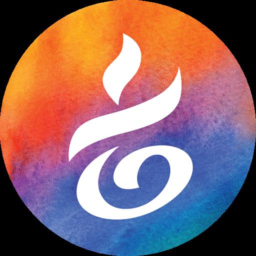 Cropped Yoga Okoboji Logo Icon Yoga Okoboji