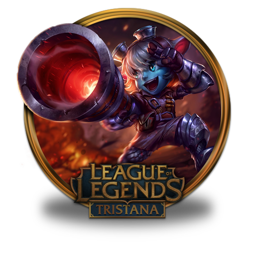 Tristana Icon League Of Legends Gold Border Iconset