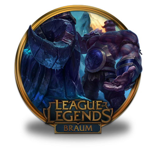 Braum Icon Free Of League Of Legends Gold Border Icons