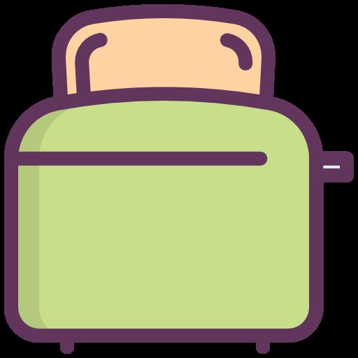 Toaster, Toasting, Cooking, Bread, Kitchen Icon Free Of Kitchen