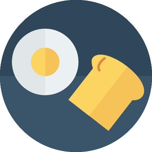 Breakfast Icon Food And Drinks Dinosoftlabs