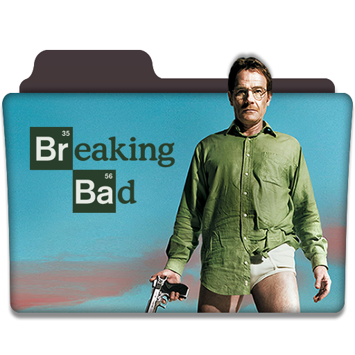 Breaking Bad Tv Series Folder Icon