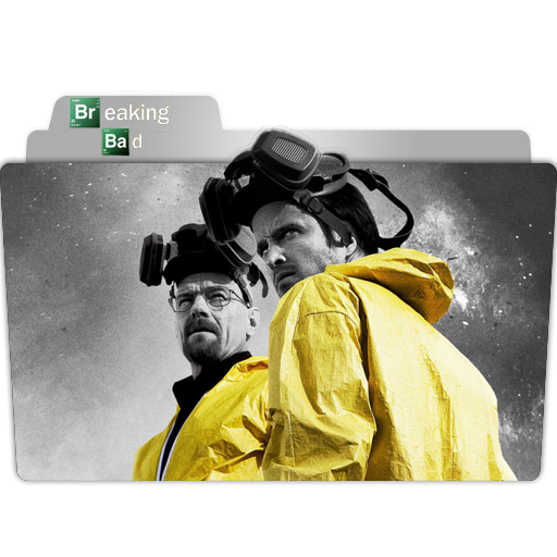 Breaking Bad Folder Icon Movie, Tv Show, Anime, Game Folder Icon
