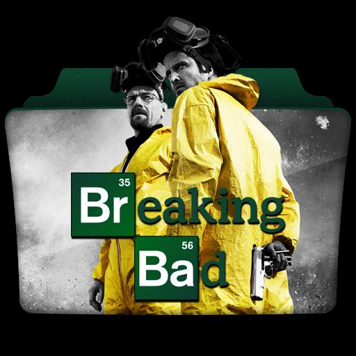 Breaking Bad Icon Tv Series Folder Pack Iconset