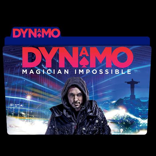 Dynamo Magician Impossible Folder Icon Movie, Tv Show, Anime