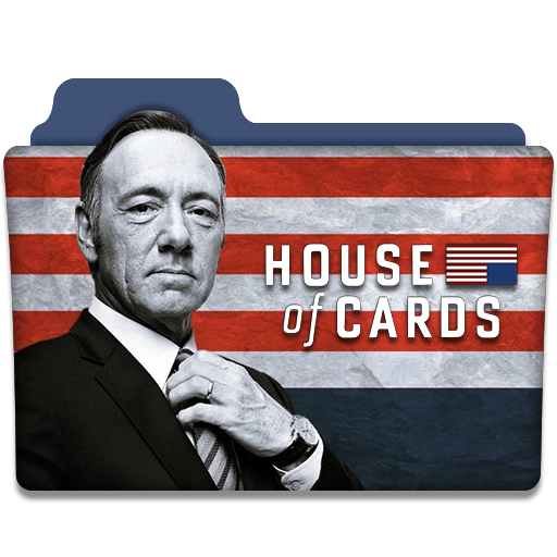 House Of Cards Tv Series Folder Icon
