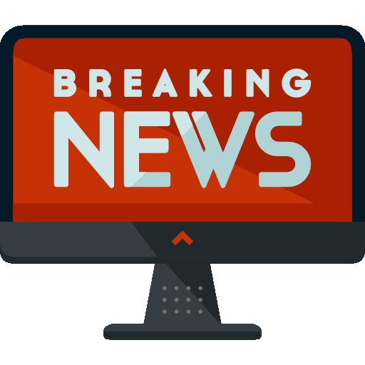 Flat News Icon