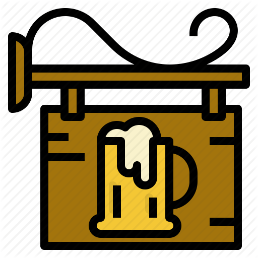 Beer, Brewery, Shop, Sign Icon
