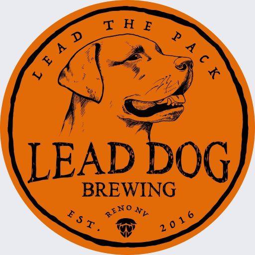 Mens Black T Shirt Lead Dog Brewing Co