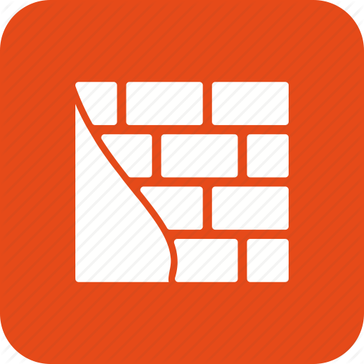 Brick Wall, Construction, Repairing, Wall Icon