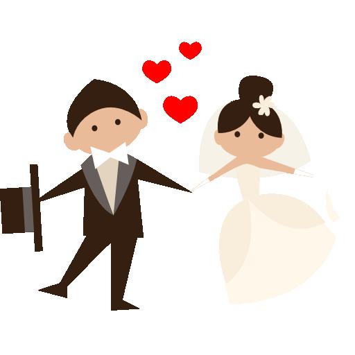 Bride, Wedding Couple, Romantic, People, Groom Icon