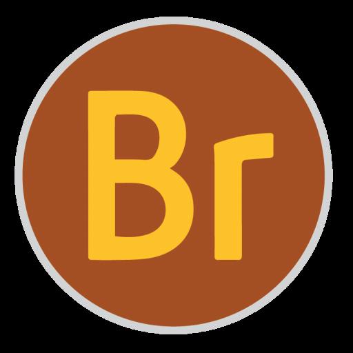 Bridge Icon Adobe Cc Iconset Hamza Saleem