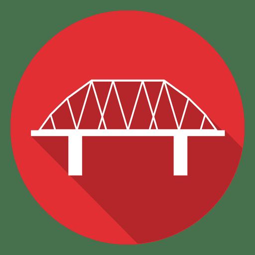 Bridge Circle Icon