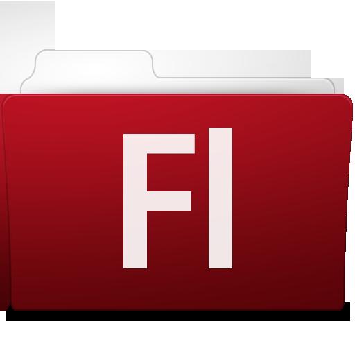 Adobe Flash Folder Icon