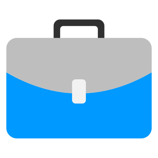 Briefcase, Flat Icon Free Of Snipicons Flat
