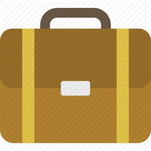 Briefcase, Office, Suitcase Icon