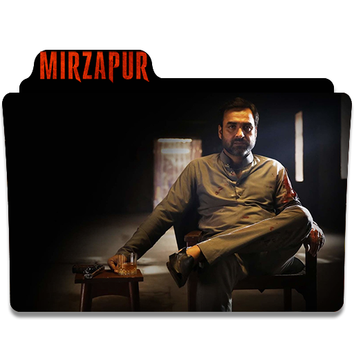 Mirzapur Tv Series Folder Icon